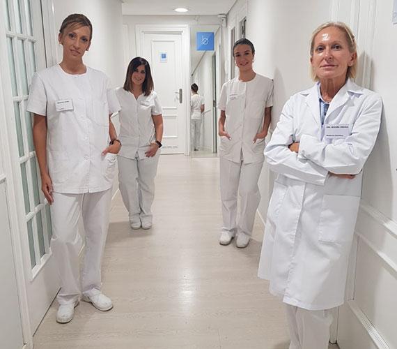 equipo profesional clínica